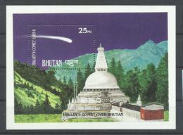 BHUTAN   YVERT   H/B 128   MNH  ** - Bhoutan