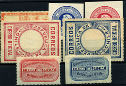3350-Chile  Nº 8/13, 15 - Chile