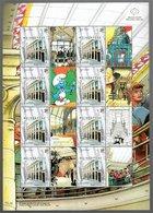 Singapore Belgium Joint Issue 2003/2005 Andreas De Moor Frank Pé Hergé Peyo Schuiten Vance Yslaire - Singapore (1959-...)