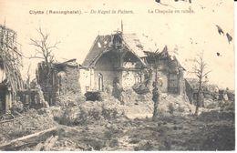 Poperinge - CPA - Clitte - Reninghelst - La Chapelle En Ruines - Poperinge