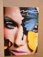MONDOSORPRESA CARTONCINO PUBBLICITARIO MADAME B., TEMATICA DONNE - Advertising (Porcelain) Signs