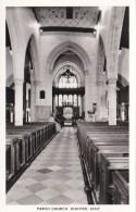 ASHFORD - PARISH CHURCH INTERIOR - England