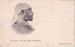 Ménélik II, Roi Des Rois D'ABYSSINIE - Erythrée