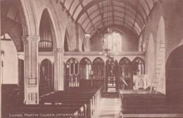 COMBE MARTIN CHURCH INTERIOR - England