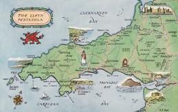 MAP CARD -THE LLEYN PENINSULA - Maps