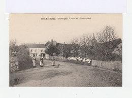 En Berry. Subligny. Route De Menetou Ratel. (3038) - France