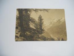 SUISSE CARTE ANCIENNE EN NOIR ET BLANC  DE 1911 VALLEE DE  ZINAL  EDIT J J N°8300  JULLIEN FRERES - Switzerland