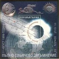 Solar Eclipse - Bulgaria / Bulgarie 1999 -  Block MNH** - Astrologia