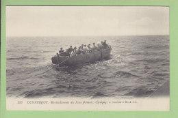 DUNKERQUE : Ravitaillement Des Feux Flottants, Equipage Se Rendant à Bord. TBE. 2 Scans. Edition LL - Dunkerque