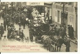10 - BAR SUR SEINE / FETE DU CHAMPAGNE 1921 - CHAR DE LANDREVILLE - Bar-sur-Seine