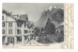 20263 - Grindelwald Hotel Und Pension Schönegg (attention Déchirure Haut De La Carte) - BE Berne