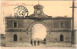 E8 BDR 13 ARLES Porte D'entrée Des Ateliers PLM 1906 - Arles