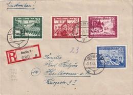 ALLEMAGNE 1944 LETTRE RECOMMANDEE  DE BERLIN  AVEC CACHET ARRIVEE HEILBRONN - Germany
