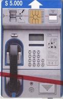 TARJETA DE CHILE DE UN TELEFONO DE $5000  (NUEVA-MINT) - Chile