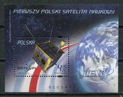 Poland 2011 Polonia / Space Satellite MNH Espacio Satélite / Cu8307  31 - Spazio