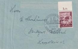 ALLEMAGNE 1944 LETTRE DE GMÜNDEN - Germany