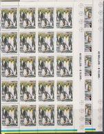 Chile 1996 Antarctica / Penguins 2 V Complete Sheetlets (shtlts Are 1x Folded) ** Mnh  (F7201) - Postzegels