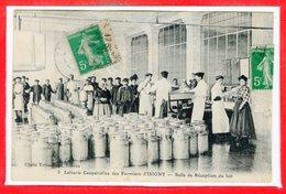 14 - ISIGNY --  Laiterie Coopérative Des Fermiers - Salle De Réception Du Lait - France