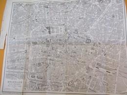 BELGIQUE/Plan De Ville/Bruxelles/Guide Conty/Plan Pratique/Grande Imprimerie De Montrouge/Paris/Vers1880-1900     PGC206 - Geographische Kaarten