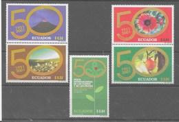 Serie De Ecuador Nº Yvert 1534E/34J (**) - Ecuador