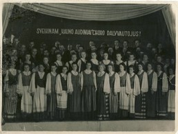 Lithuania Kauno Audiniu Choras 1953-1954 - Lithuania