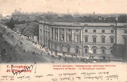 ¤¤   -  RUSSIE   -  SAINT-PETERSBOURG   -  Perspective De Nevsky  -  La Bibliothèque Impériale    -  ¤¤ - Russia