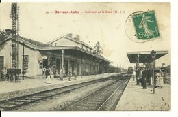 10 - BAR SUR AUBE / INTERIEUR DE LA GARE - Bar-sur-Aube