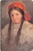 ¤¤   -  RUSSIE   -   Portrait De Fillette   -  SITCHKOFF   -  Peintre  -  Peinture  -  ¤¤ - Russia