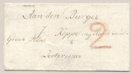 Nederland - EO Omslag Van (cursief) LEYDEN Naar Zoetermeer - Nederland
