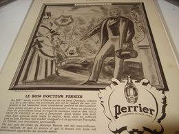 ANCIENNE PUBLICITE HISTOIRE D UNE SOURCE PERRIER   1942 - Posters