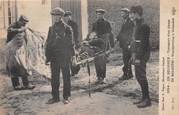 ¤¤   -  BELGIQUE   -  Guerre 1914-1918  -  Transport D'un Blessé  -  ¤¤ - Non Classés