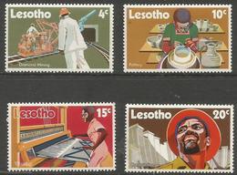 Lesotho  - 1971 Technical Development MNH **   SG 215-8 - Lesotho (1966-...)