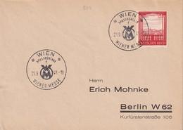 ALLEMAGNE 1941 LETTRE DE WIEN - Germany