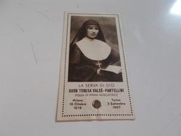 B693  Santino  Suor Teresa Valse' Pantellini - Devotieprenten