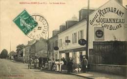YVELINES  ROSNY Sur SEINE  La Grande Route - Rosny Sur Seine
