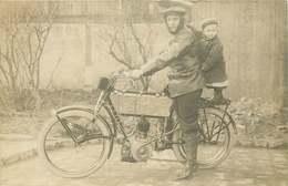 MOTO Ancienne (carte Photo) - Motos