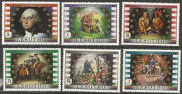 Lesotho  - 1982 George Washington MNH **   SG 493-8 - Lesotho (1966-...)