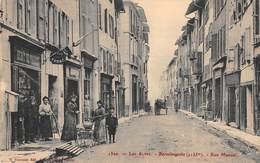 CPA  04 - BARCELONNETTE - Rue Manuel - Barcelonnette