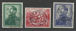 DDR 286/288 Gest., Gepr. Schönherr - Used Stamps