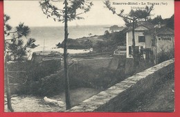 D 83 CPA LE TRAYAS Reserve Hotel Belle Carte Ecrite 1931 N074 - Frankreich