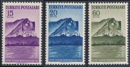 Turkey Turquie Turkei 1947 Mi 1199 /1 YT 1057 /9 Sc 960 /2 ** Int. Railway Congress, Istanbul / Eisenbahnkongress - Treinen