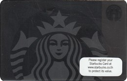 Thailand Starbucks Card  Black Siren Lady - 2017-6141 - Gift Cards