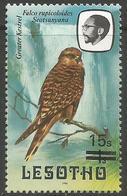 Lesotho  - 1986 Greater Kestrel 15s/1s MNH **   SG 716c - Lesotho (1966-...)