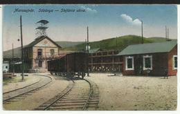 ROMÂNIA - Marosújvár: Sóbánya - Stefánia Akna - Minei De Sare Cu Vagon De Cale Ferată/salt Mine With Railway Wagon - Romania