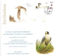 59. BUZIN. LE FAUCON PELERIN  15 ANS A.B.C.P. - 1985-.. Oiseaux (Buzin)
