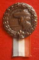 "Before WWII,SCOUT - Kingdom Yugoslavia, III.SABOR, Palic 1935. - Badge / Pin Manufactured ""HAVAS"" Subotica - Associations"