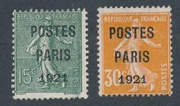 CD-110 : FRANCE: Lot Avec Préo N°28/29 - 1893-1947