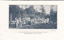 PAGE D'un Livre--GROUPE NATURISTES--rassemblement--( Nus Enfants Féminins Masculins Au Sparta-club )-voir 2 Scans - Vieux Papiers