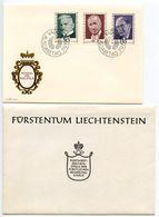 Liechtenstein 1972 Scott 509-511 FDC Pioneers Of Philately - FDC