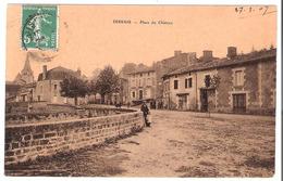 Dissay (86 - Vienne)  La Place Du Château - France